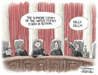 https://www.facebook.com/EditorialCartoons/photos/a.154224724642757/1974249985973546/?type=3&theater: THE SUPREME COURT  OF THE UNITED STATES  IS NOW IN SESSION..  DILLY,  DILLY!  で  ON  10- https://www.facebook.com/EditorialCartoons/photos/a.154224724642757/1974249985973546/?type=3&theater