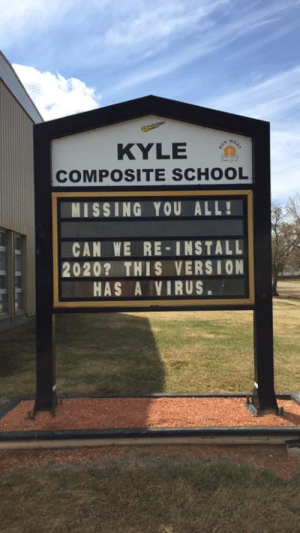 The teacher who did this sign needs a raise: The teacher who did this sign needs a raise