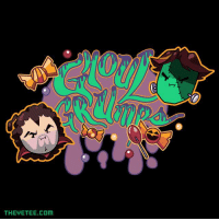 "Dank, Friends, and Halloween: THE TEE.COM Don't forget that our scary new ""Ghoul Grumps"" shirt is now available, but only until Halloween! Get yours now and scare the shit out of your friends...with how awesome you are!!! theyetee.com/gamegrumps"