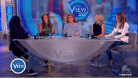 """Memes, Whoopi Goldberg, and 🤖: THE  THE  IEW  20  Jedediah Bila says the media should ask """"tough questions"""" of the President. """"If you don't like it, then you're not up for the job."""" """"""""The second the press disappears in this country, this is no longer America,"""" Whoopi Goldberg added."""