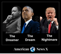 True dat.: The  The  The  Dreamer Dream Nightmare  AmericanNews X True dat.