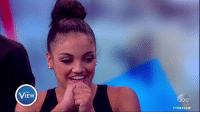 """Dancing, Memes, and Dancing With the Stars: THE  #THE VIEW """"As a kid, dancing was my passion,"""" Olympic gold-medalist Laurie Hernandez says of winning Dancing with the Stars. """"I was able to come here and get a mirror ball, and that blows my mind!"""""""