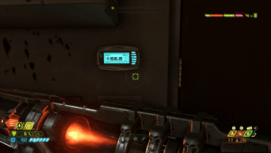The thermostat in DOOM Eternal reads 66.6 (found at the ARC Complex): The thermostat in DOOM Eternal reads 66.6 (found at the ARC Complex)