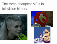 Historical: The three cheapest MF's in  television history  Thais a Chaos Emerald!