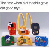 McDonalds, Memes, and Good: The time when McDonald's gave  out good toys. Good ol' days