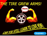 """Love, Reddit, and Tupac: THE TIRE GREW ARMS!  thont.  eN rOUSTLL LEARN TO LOVE HIN  tupac > <p>[<a href=""""https://www.reddit.com/r/surrealmemes/comments/8alfi5/they_only_get_bettercom/"""">Src</a>]</p>"""
