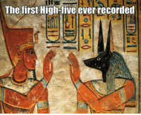 High Five, Five, and High: The tirst High five ever recordet
