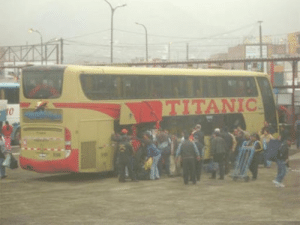 Titanic, Her, and Voyage: The Titanic on the morning of her maiden voyage (1912, colorized)