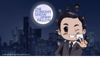 "Gif, Jimmy Fallon, and Tumblr: THE  TONIGHT  SHOW  STARRINC  JIMMY  FALLON  Thank You  msfangirlgonewild.tumblr.com <p>This is some awesome fan art of Jimmy and The Roots! <img alt="""" src=""https://78.media.tumblr.com/ff8160a0f0a1cfaa0bbf12325452b8b5/tumblr_ncexcyhGsn1tv4k5po1_400.gif""/></p> <p>Keep up the awesome work! - Noah <img alt="""" src=""https://78.media.tumblr.com/557845117259c91bd462a3cee1879ea1/tumblr_ncffn7YKlm1tv4k5po1_500.gif""/></p>"