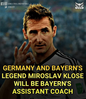 The Top Scorer Of World Cup Is Now Bayern's Assistant Manager!😍👐🔥 https://t.co/Dmi6uuyxCo: The Top Scorer Of World Cup Is Now Bayern's Assistant Manager!😍👐🔥 https://t.co/Dmi6uuyxCo