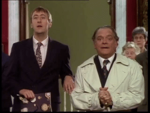 The Trotter's becoming millionaires was one of the greatest moments in British comedy history!: The Trotter's becoming millionaires was one of the greatest moments in British comedy history!
