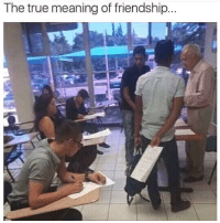 True, Meaning, and Friendship: The true meaning of friendship..