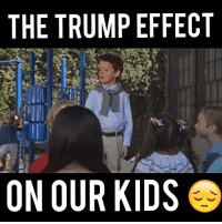 Memes, Patriotic, and Videos: THE TRUMP EFFECT  ON OUR KIDS This is SO worth a share...  Video By Patriotic Artists & Creatives PAC, LIKE their page for more!  Shared by Occupy Democrats.