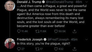 The Trump plague: The Trump plague