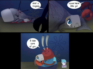 The truth behind mr. krabs daughter.: The truth behind mr. krabs daughter.