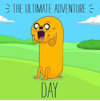 Friends, Memes, and Tomorrow: THE ULTIMATE ADVENTURE  DA Only 1 more day! Come on, grab your friends and watch the TheUltimateAdventure TOMORROW at 6p! AdventureTime