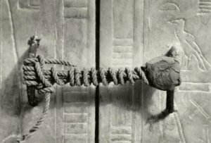 Seal, Unbroken, and Tutankhamun: The unbroken seal on Tutankhamuns tomb, 3,245 years untouched!