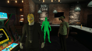 The unholy trinity - emoji boi, thicc alien, and beer hat goon: The unholy trinity - emoji boi, thicc alien, and beer hat goon