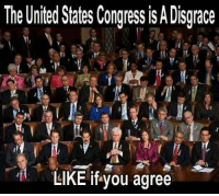 Completely disgraceful!: The United States Congress is A Disgrace  LIKE ifyou agree Completely disgraceful!