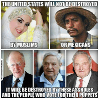 💭 It's true you know... 💭 Join Us: @TheFreeThoughtProject 💭 TheFreeThoughtProject 💭 LIKE our Facebook page & Visit our website for more News and Information. Link in Bio.... 💭 www.TheFreeThoughtProject.com: THE UNITED STATES WILLNOT BEDESTROYED  OR MEXICANS  BY MUSLIMS  IT WILLBEDESTROYEDBYTHESEASSHOLES  AND THE PEOPLE WHO VOTE FOR THEIR PUPPETS 💭 It's true you know... 💭 Join Us: @TheFreeThoughtProject 💭 TheFreeThoughtProject 💭 LIKE our Facebook page & Visit our website for more News and Information. Link in Bio.... 💭 www.TheFreeThoughtProject.com