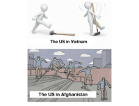Afghanistan, Vietnam, and The: The US in Vietnam  The US in Afghanistan