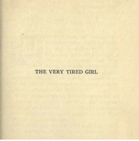 Girl, Tired, and The: THE VERY TIRED GIRL