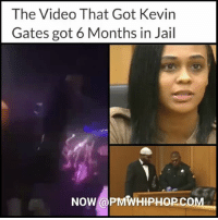 This was the incident that got KevinGates 6 months in jail. For full video and story go to pmwhiphop.com Link in bio: The Video That Got Kevin  Gates got 6 Months in Jail  NOW@PMWHIPHOP.co This was the incident that got KevinGates 6 months in jail. For full video and story go to pmwhiphop.com Link in bio