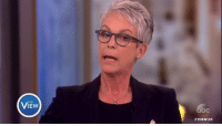 """Finals, Hillary Clinton, and Memes: THE  VIEW20 Jamie Lee Curtis on campaigning for Hillary Clinton: """"I felt [I need to] finally just open my mouth and say what I thought."""""""