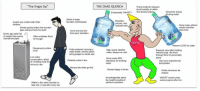 "<p>Virgin vs Chad memes are on the rise! INVEST NOW! via /r/MemeEconomy <a href=""http://ift.tt/2vPzCAN"">http://ift.tt/2vPzCAN</a></p>: ""The Virgin Sip""  THE CHAD QUENCH  Primal instincts measure  local humidity to within  five decimal places  Existentially THIRSTY  Genuinely enjoys  drinking water  Afraid of water  fountain confrontation  Avoids eye contact with other  drinkers  Beautiful  smooth, well  hydrated skin  Drinks quickly before the fountain  gets cold and hurts his teeth  Never seen without  ample hydration  resources  Acne and oily skin  from poor hydration  Drinks tap water full  of metals from poorly  maintained pipes  Often mistakes thirst  for hunger  OOCH  Women LOVE his water  Dangerously yellovw  urine  Feels awkward carrying a  water bottle, worries about  High quality distilled  water, always ice cold  Expends zero effort holding  massive jugs, ifts them  through force of personality  alone  being judged on bottle size  Low water  consumption, afraid  of urinating more tha  once per day  Urine meets EPA  standards for drinking  water  Patiently waits in line  Has never experienced  dehydration  Always lets other go first  Always happy to share  Drinks whenever he  desires  Knowledgeable about  the health benefits of  optimum hydration  UNICEF names clean  water projects after him  Walks to the water fountain to  take one (1) sip after every set <p>Virgin vs Chad memes are on the rise! INVEST NOW! via /r/MemeEconomy <a href=""http://ift.tt/2vPzCAN"">http://ift.tt/2vPzCAN</a></p>"