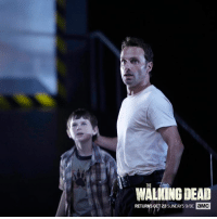 Dank, Journey, and The Walking Dead: THE  WALKING DEAD  RETURNS  OCT 23 SUNDAYs9/8c aMC Carl's grown up in the apocalypse – see his Journey So Far this Sunday at 9|8c.   Then, watch the #TWD Season 7 Premiere on October 23 to learn Carl's fate.