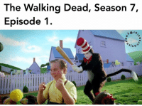 Memes, The Walking Dead, and Walking Dead: The Walking Dead, Season 7,  Episode 1  ISO i'm sorry for making this