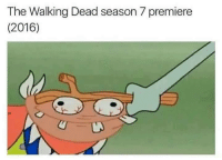 Funny, Bobby Hill, and Good: The Walking Dead season 7 premiere  (2016) Oh my goodness.   -Bobby Hill