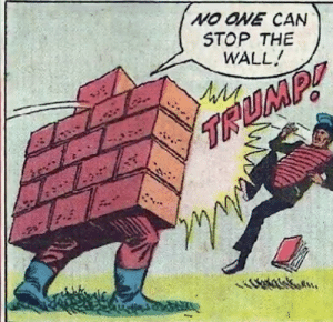 The Wall is unstoppable: The Wall is unstoppable