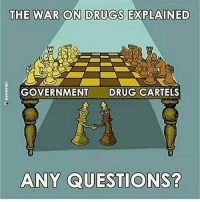 This actually happened , look it up: THE WAR ON DRUGS EXPLAINED  GOVERNMENT DRUG CARTELS  ANY QUESTIONS? This actually happened , look it up