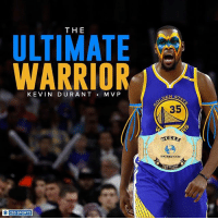 Finals, Kevin Durant, and Memes: THE  WARRIOR  KEVIN DURANT  MVP  CBS SPORTS  DEN ST  35 Finals MVP.