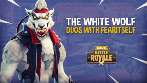 Ghost, Ninja, and White: THE WHITE WOLF  DUOS WITH FEARITSEL  NINJA  BATTLE  ROYALE Sadly, Ghost has been forced to take other acting gigs since being left out of GOT