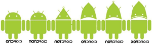 The whole Droid family: The whole Droid family