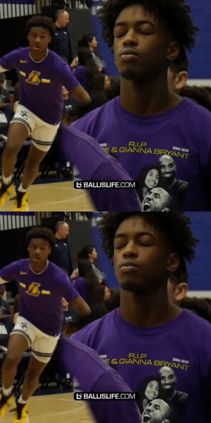 The whole Sierra Canyon squad honored Kobe & Gigi Bryant tonight. They all wore Kobe Lakers gear during warm ups and many had tributes on their shoes 🙏💔❤️🙌 They also held the ball for 24 seconds at tip off https://t.co/G2zr8eATLk: The whole Sierra Canyon squad honored Kobe & Gigi Bryant tonight. They all wore Kobe Lakers gear during warm ups and many had tributes on their shoes 🙏💔❤️🙌 They also held the ball for 24 seconds at tip off https://t.co/G2zr8eATLk