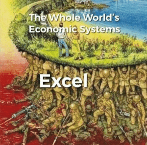 Pretty much: The Whole World's  Economic Systems  Excel Pretty much