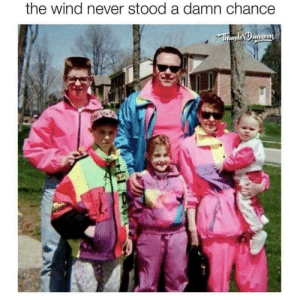 Never, Wind, and Chance: the wind never stood a damn chance  ThundejOungeon Windbreaker season