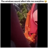 Funny, Lol, and Windows: The windows sound effect kills me everytime Forver funny lol