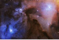 The winning images from this year's competition have now been announced, with Artem Mironov's vibrant clouds of dust and gas in the Rho Ophiuchi Cloud Complex scooping first place. Mironov won both the Stars and Nebulae category and the overall award, Insight Astronomy Photographer of the Year 2017. This image was taken over the course of three nights at a farm in Namibia, near Gamsberg mountain. The nebula is approximately 400 light years away from our planet, yet it is one of the closest to the Solar System. PHOTO: Artem Mironov- courtesy Insight Astronomy Photographer of the Year. Royal Observatory Greenwich BBCSnapshot phtoography astronomy competition stars nightsky: The winning images from this year's competition have now been announced, with Artem Mironov's vibrant clouds of dust and gas in the Rho Ophiuchi Cloud Complex scooping first place. Mironov won both the Stars and Nebulae category and the overall award, Insight Astronomy Photographer of the Year 2017. This image was taken over the course of three nights at a farm in Namibia, near Gamsberg mountain. The nebula is approximately 400 light years away from our planet, yet it is one of the closest to the Solar System. PHOTO: Artem Mironov- courtesy Insight Astronomy Photographer of the Year. Royal Observatory Greenwich BBCSnapshot phtoography astronomy competition stars nightsky