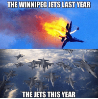 The Jets are going to the Final I have no doubt in my mind: THE WINNIPEG JETS LAST YEAR  .. @nhlreflogic  THE JETS THIS YEAR The Jets are going to the Final I have no doubt in my mind