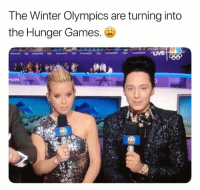 The Hunger Games: The Winter Olympics are turning into  the Hunger Games.