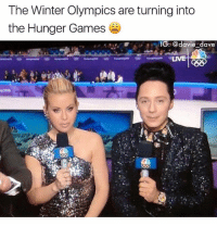 The Hunger Games, Memes, and Saw: The Winter Olympics are turning into  the Hunger Games  G: @davie dave  LIVE Who else saw this 😂 • Follow @savagememesss for more posts daily