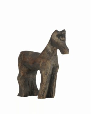 The wooden toy horse from Blade Runner 2049 is actually a unicorn, with it's horn chiseled or broken off: The wooden toy horse from Blade Runner 2049 is actually a unicorn, with it's horn chiseled or broken off