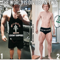 🔥😳😂WHICH ONE ARE YOU? Founder 👉: @king_khieu. Can you relate? 1? or 2? Vote 👇 below! Tag someone who is one of the these. Thoughts? 🤔 What do you guys think? COMMENT BELOW! Athletes: Unknown. Please tag below if known. TAG SOMEONE who needs to lift! _________________ Looking for unique gym clothes? Use our 10% discount code: LEGIONS10🔑 on Ape Athletics 🦍 fitness apparel! The link is in our 👆 bio! _________________ Principal 🔥 account: @fitness_legions. Facebook ✅ page: Legions Production. @legions_production🏆🏆🏆.: THE WORLD IS DIVIDEDINTWO  EVERY DAY IS LEG DAY  LEG DAY SKIPPERS 🔥😳😂WHICH ONE ARE YOU? Founder 👉: @king_khieu. Can you relate? 1? or 2? Vote 👇 below! Tag someone who is one of the these. Thoughts? 🤔 What do you guys think? COMMENT BELOW! Athletes: Unknown. Please tag below if known. TAG SOMEONE who needs to lift! _________________ Looking for unique gym clothes? Use our 10% discount code: LEGIONS10🔑 on Ape Athletics 🦍 fitness apparel! The link is in our 👆 bio! _________________ Principal 🔥 account: @fitness_legions. Facebook ✅ page: Legions Production. @legions_production🏆🏆🏆.