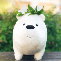 The world isn't ready for what Ice Bear can do. And the world isn't ready for this adorb plushie! 😍❄️✨Tap the link in our bio to pre-order now. webarebears icebear socute: The world isn't ready for what Ice Bear can do. And the world isn't ready for this adorb plushie! 😍❄️✨Tap the link in our bio to pre-order now. webarebears icebear socute