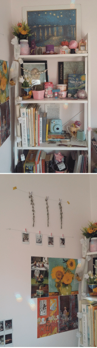 plntboy:why's my room the cutest? ig:softartboy: The World of Van Gogh  THE SONG OF A  GREAT MODERN ARTISTS  Michelangelo  READER'S DIGEST FA  TREASURY OF GREAT PAINTERS AND GREAT PAINTINGS  Jeha House  THE WORLD of ART-  ludson   Ore THE WORLD of ART plntboy:why's my room the cutest? ig:softartboy