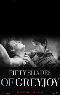 fifties: THE WORLD WIDE PHEN  OMENO IN COM ES TO LIFE  FIFTY SHADES  OF  GREY JOY  VALENTINE'S DAY 2015